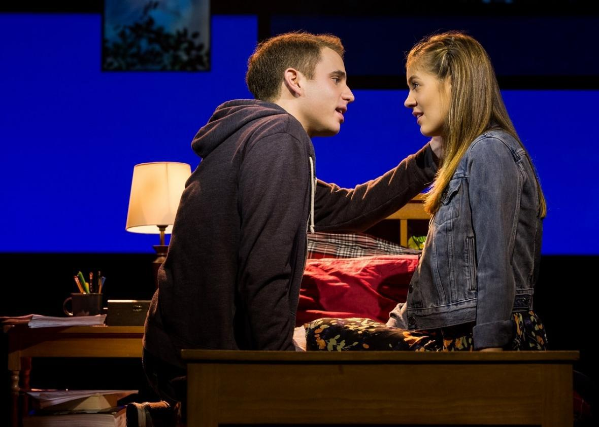 Dear Evan Hansen at CIBC Theatre